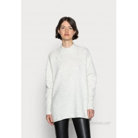 Selected Femme SLFENICA ONECK NOOS Jumper birch/offwhite
