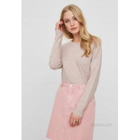 Vero Moda VMDOFF O NECK Jumper Woodrose/pink
