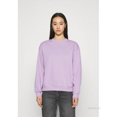 Monki Sweatshirt lilac purple dusty light/purple