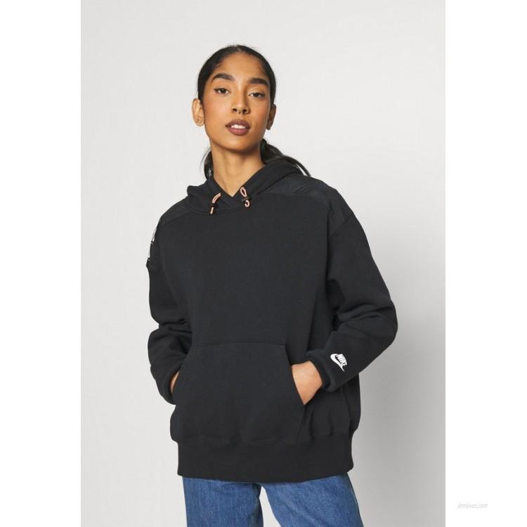 Nike Sportswear HOODIE Sweatshirt black/white/black