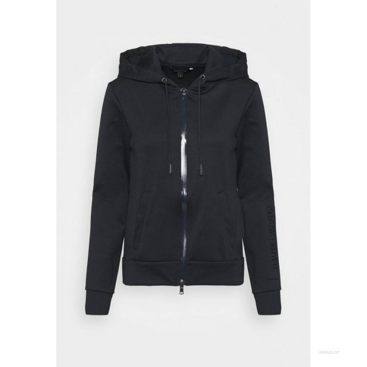 Armani Exchange FELPA Zipup sweatshirt navy/dark blue