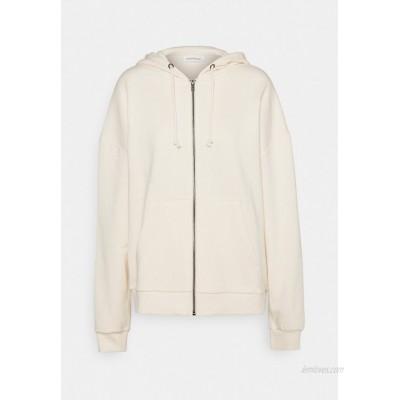 Even&Odd Oversized Hooded Sweat Jacket Zipup sweatshirt offwhite