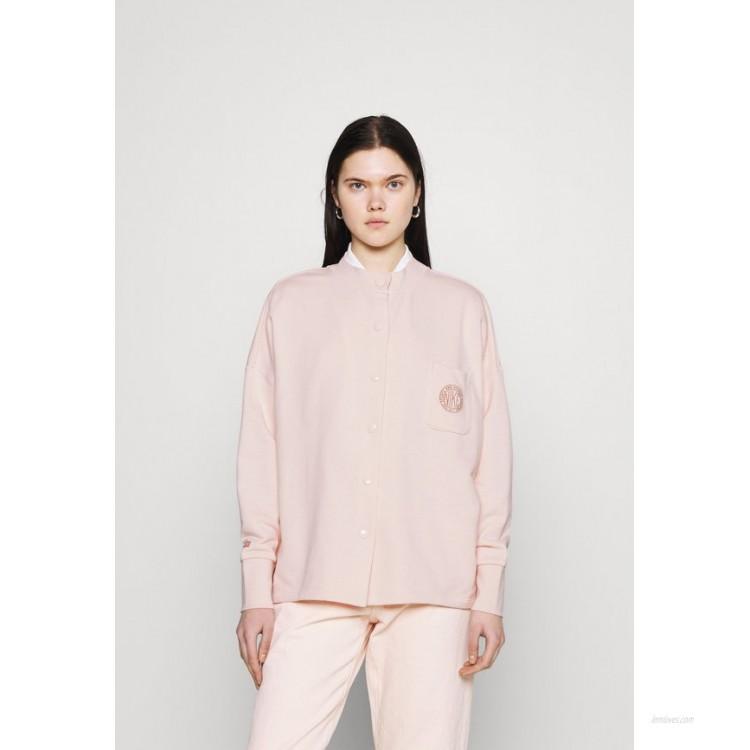 Nike Sportswear FEMME Zipup sweatshirt orange pearl/orange pearl/terra blush/light pink