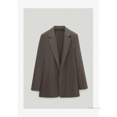Massimo Dutti MIT NADELSTREIFEN  Blazer light grey
