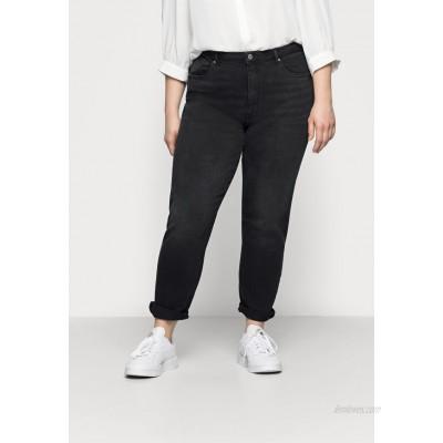 ONLY Carmakoma CARENEDA  Straight leg jeans black/washed/black