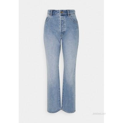 Rolla's CLASSIC STRAIGHT Straight leg jeans blue/lightblue denim