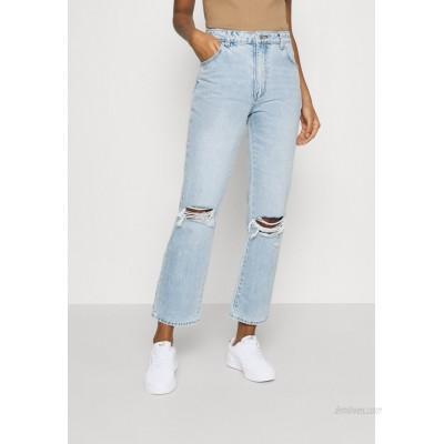 Rolla's ORIGINAL STRAIGHT Straight leg jeans sunbleach worn/destroyed denim