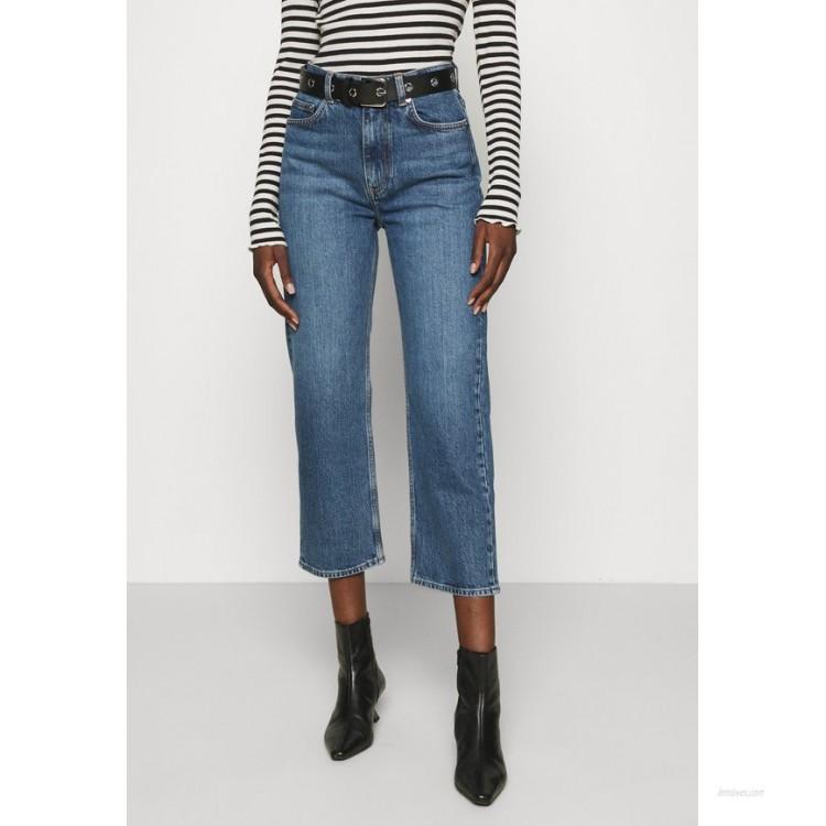 ARKET Relaxed fit jeans dark mid blue/dark blue