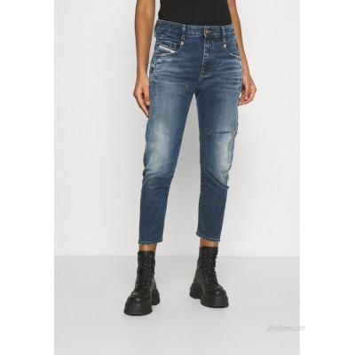 Diesel DFAYZANE Relaxed fit jeans medium blue/darkblue denim