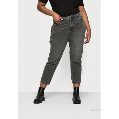 Noisy May Curve NMISABEL MOM  Relaxed fit jeans grey denim