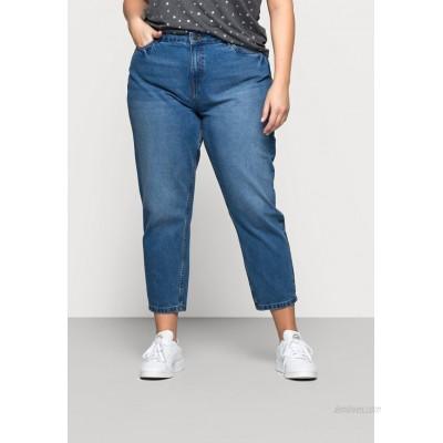 Noisy May Curve NMISABEL MOM Relaxed fit jeans medium blue denim/blue denim
