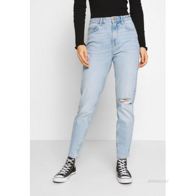 Pieces PCLEAH MOM Relaxed fit jeans light blue denim/lightblue denim