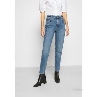Pieces PCLEAH MOM Relaxed fit jeans medium blue denim/blue denim