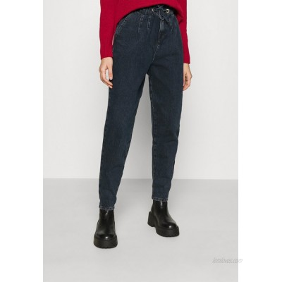 Topshop CLAPTON MOM Relaxed fit jeans blue black/dark blue