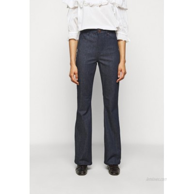 2nd Day FIONA THINKTWICE Flared Jeans dark blue
