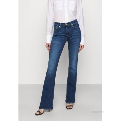 7 for all mankind Bootcut jeans mid blue/blue denim