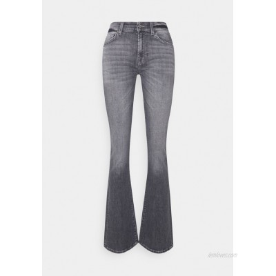 7 for all mankind BOOTCUT SOHO Bootcut jeans grey/dark grey