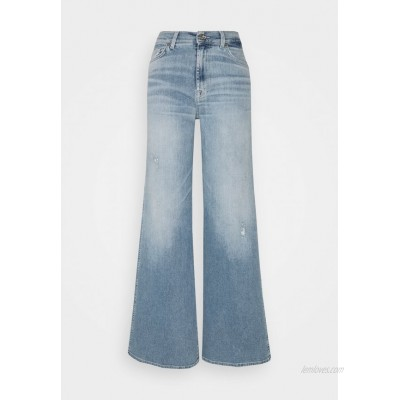 7 for all mankind LOTTA LUXE VINTAGE SKYWALK Flared Jeans light blue
