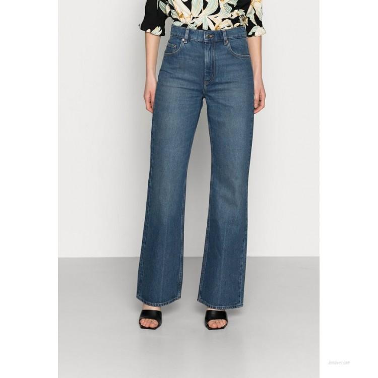 ARKET JEANS Flared Jeans blue