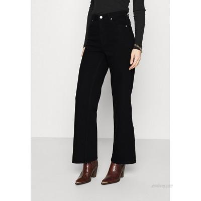 Carin Wester CINDY Flared Jeans black/black denim