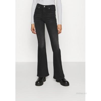 Dr.Denim MACY Flared Jeans black mist/black denim