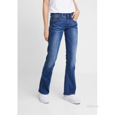 GStar MIDGE MID BOOTCUT  Bootcut jeans faded blue/blue denim