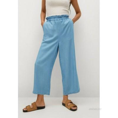 Mango OKAH Flared Jeans azul claro/light blue
