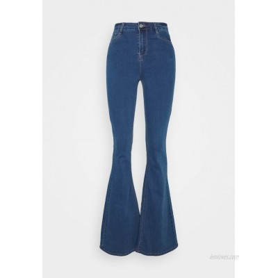 Missguided Tall LAWLESS  Flared Jeans blue