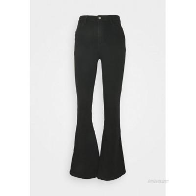 ONLY ONLHELLA LIFE RETRO Flared Jeans black