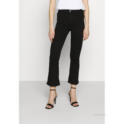 ONLY ONLRAIN SWEET Flared Jeans black