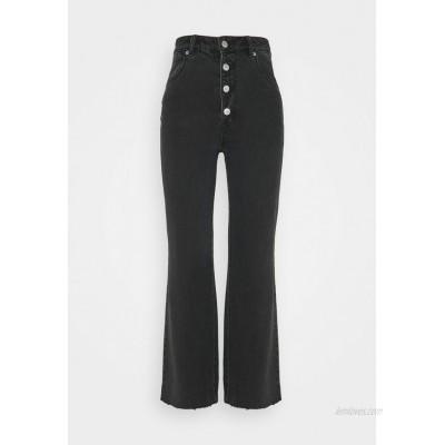 Rolla's EASTCOAST CROP FLARE Flared Jeans comfort shadow/black denim