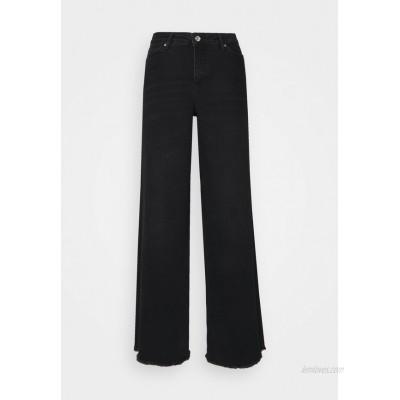 Vero Moda Curve VMALISIA WIDE Flared Jeans black denim