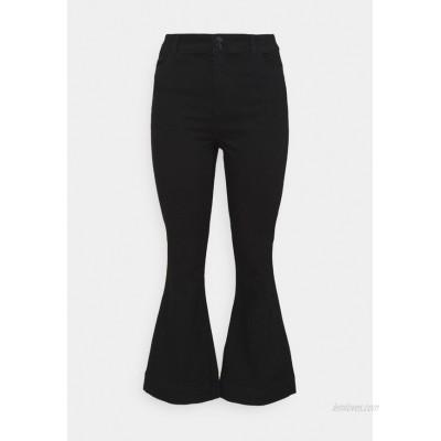 Vero Moda Curve VMSHINY FLARE CURVE Flared Jeans black/black denim