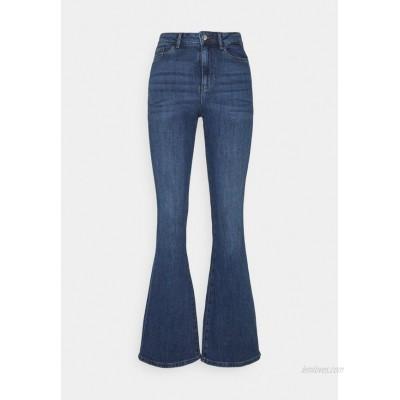 Vero Moda VMSIGA SLIM Bootcut jeans medium blue denim/blue denim