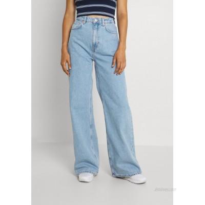 Weekday ACE Flared Jeans 90's blue/mottled light blue