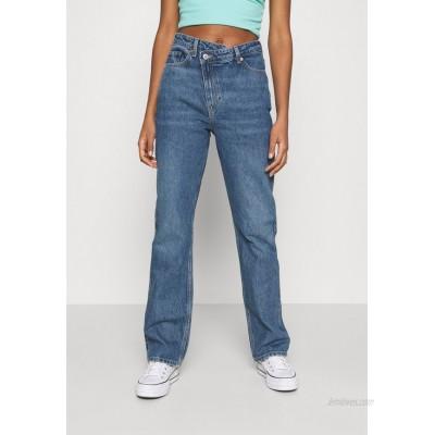 Weekday SKEW Flared Jeans sea blue/blue