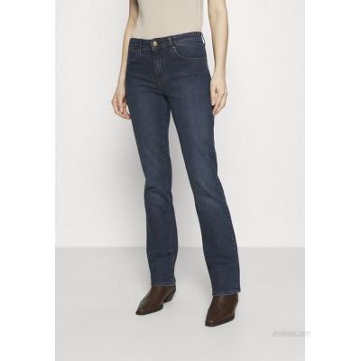 Wrangler Bootcut jeans bonfire blue/darkblue denim