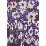 Soaked in Luxury Day dress dazzling blue flower/blue