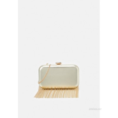 Forever New FREDERICA CHAIN FRINGE Clutch goldcoloured