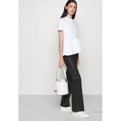 KARL LAGERFELD CHARMS BUCKET Handbag white