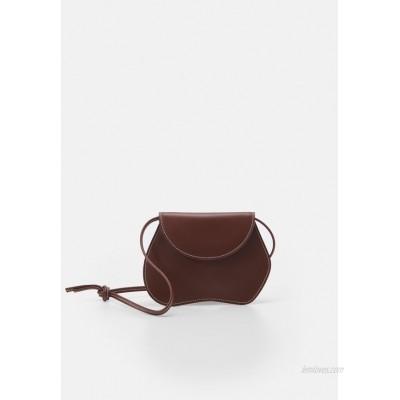 Little Liffner PEBBLE MICRO BAG Handbag chestnut/brown