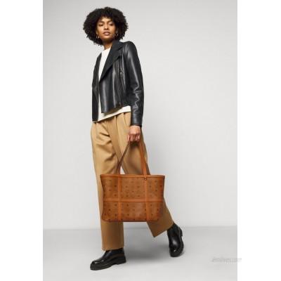 MCM DELMY VISETOS SHOPPER MEDIUM Tote bag cognac/brown