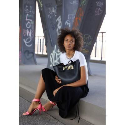 Versace Jeans Couture SAFFIANO LOCK Tote bag nero/black
