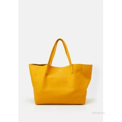 Kurt Geiger London VIOLET HORIZONTAL TOTE Tote bag mustard/mustard yellow