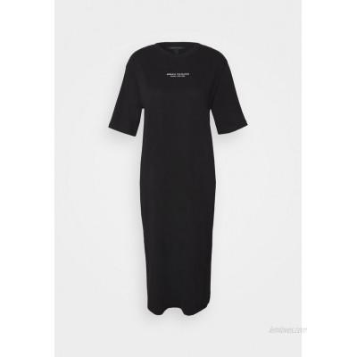 Armani Exchange Jersey dress black