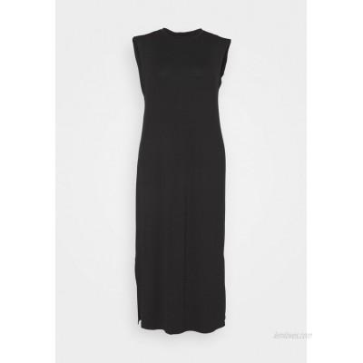 CAPSULE by Simply Be SHOULDER PAD DRESS Maxi dress black