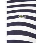 Lacoste Jersey dress navy blue/flour/dark blue