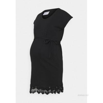 MAMALICIOUS MLALETTA Jersey dress black