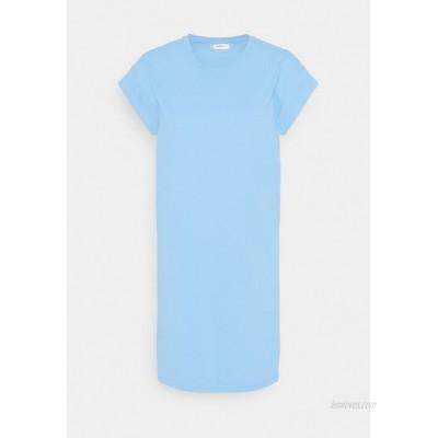 Moss Copenhagen ALVIDERA ADDI PLAIN DRESS Jersey dress lake blue/light blue