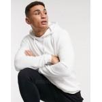 DESIGN organic hoodie in white